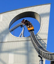 Thunder Dolphin Roller Coaster