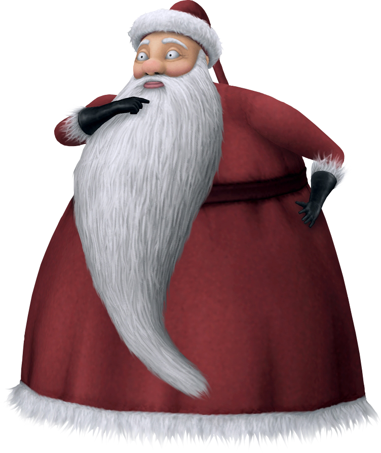 Image - Santa Claus KHII.png | The Nightmare Before Christmas Wiki ...