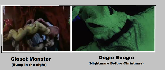 File:Fan Made The Closet Monster kinda looks like Oogie Boogie look alike resemblance .png