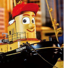Theodore Tugboat One DVD