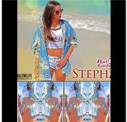 Stephanie photoshoot on the beach of miami