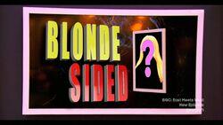 BlondeSided