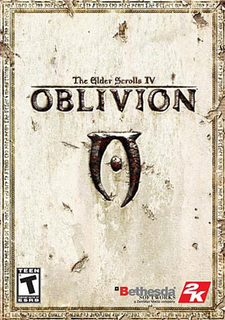 The Elder Scrolls IV Oblivion cover