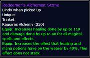 Redeemer's Alchemist Stone