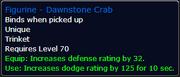 Dawnstone Crab