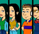 The six friends