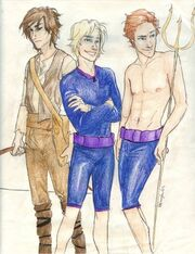 The Men of Hunger Games by burdge bug