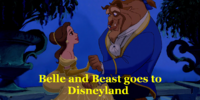 Belle and Beast goes to Disneyland/Gallery
