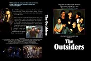 The Outsiders DVD Front and Back Cover