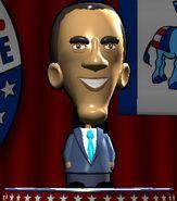 Barack Obama in The Political Machine 2008