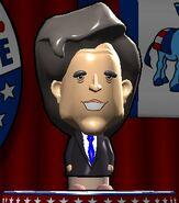 John F. Kennedy in The Political Machine 2008