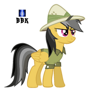 Daring do pose by bb kenobi-d4ylvqy