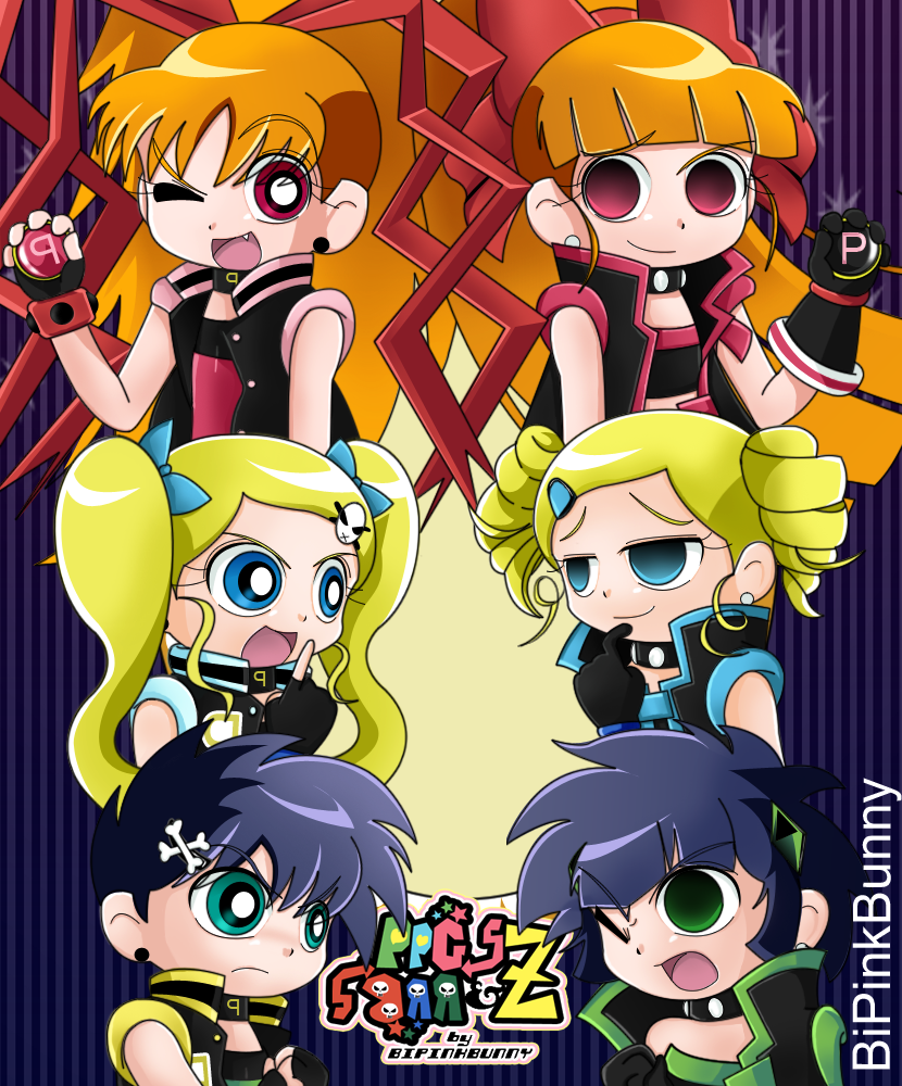 the powerpunk girls the powerpuff girls z wiki fandom powered