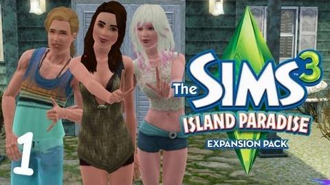 Let's Play The Sims 3 Island Paradise - (Part 1) - Create-A-Sim