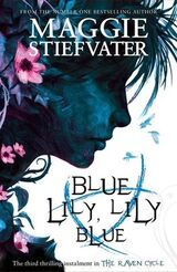 Blue Lily, Lily Blue, UK paperback cover