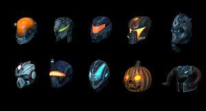 Armory DLC Helmets