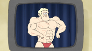 S5E11.090 Bodybuilding Poses on Tape 04