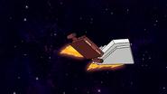 S8E15.200 Bounty Hunters Ramming Into the Space Tree Trio