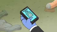 S6E28.076 HFG Calling on Mordecai's Phone