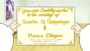 S5E35.006 Quips' Wedding Invitation