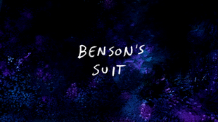 S6E18 Benson's Suit Title Card