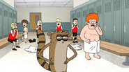 S7E21.108 The Boys Reaction to Rigby's Challenge