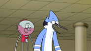S6E21.207 Mordecai and Benson are Happy Party Horse Caught the Pencil Sharpener