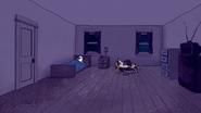 S7E19.042 Mordecai and Rigby Sleeping