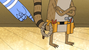 S6E07.056 Mordecai Pointing at Rigby's Utility Whip