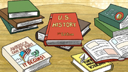 S6E21.136 A Bunch of US History Books