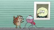 S7E03.060 Rigby and Benson Moving Past Mr. Maellard