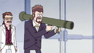 S4E36.225 Vince Armed with a Rocket Launcher