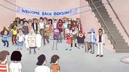 S4E36.263 Welcome Back Benson! Party