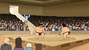 Sh03.029 OOOHHing in Through a Sumo Wrestling Match in Japan 01