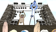 S6E17.194 The Audience Clapping with Mordecai and Rigby