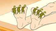 S6E15.090 Sea Turtles Between the Ladies Toes