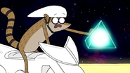 S7E11.182 Rigby Grabbing the First Power-up