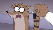 S7E27.064 Rigby Gasping at Sherm's Car Key