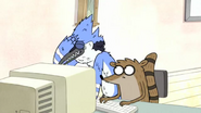S3E25 Mordecai doesn't want to start internet dating