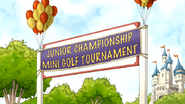 S6E03.087 Junior Championship Mini Golf Tournament