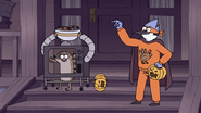 S7E09.316 Mordecai and Rigby Going to Take All the Candy