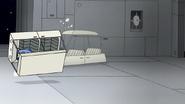S8E01.086 Mordecai Driving Off