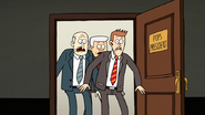 S7E17.165 The YZB Staff Entering Pops' Office
