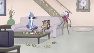 S7E09.086 Benson Running to Mordecai and Rigby