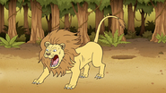 S6E25.049 Lion Jumping Out of a Hole