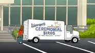 S6E07.021 Warren's Ceremonial Birds, We Make Any Event Soar