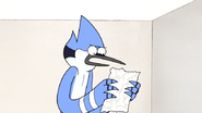 S5E05.035 Mordecai Reading Rigby's To-Do List