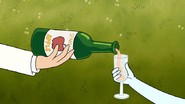 S7E03.005 Sparkling Cider Being Poured
