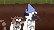 S6E05.140 Mordecai and Rigby's Surprised Reaction