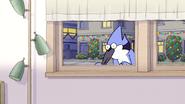 S6E11.151 Mordecai Peeking Through CJ's Window